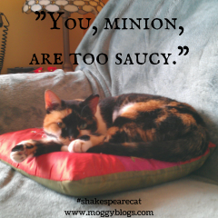 You, minion, are too saucy